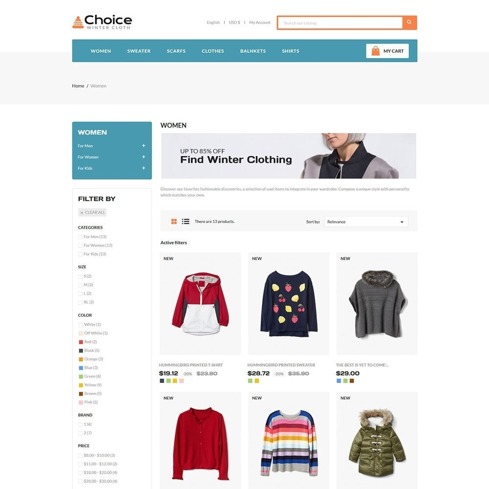 theme - Moda & Obuwie - Choice Fashion Store - 3