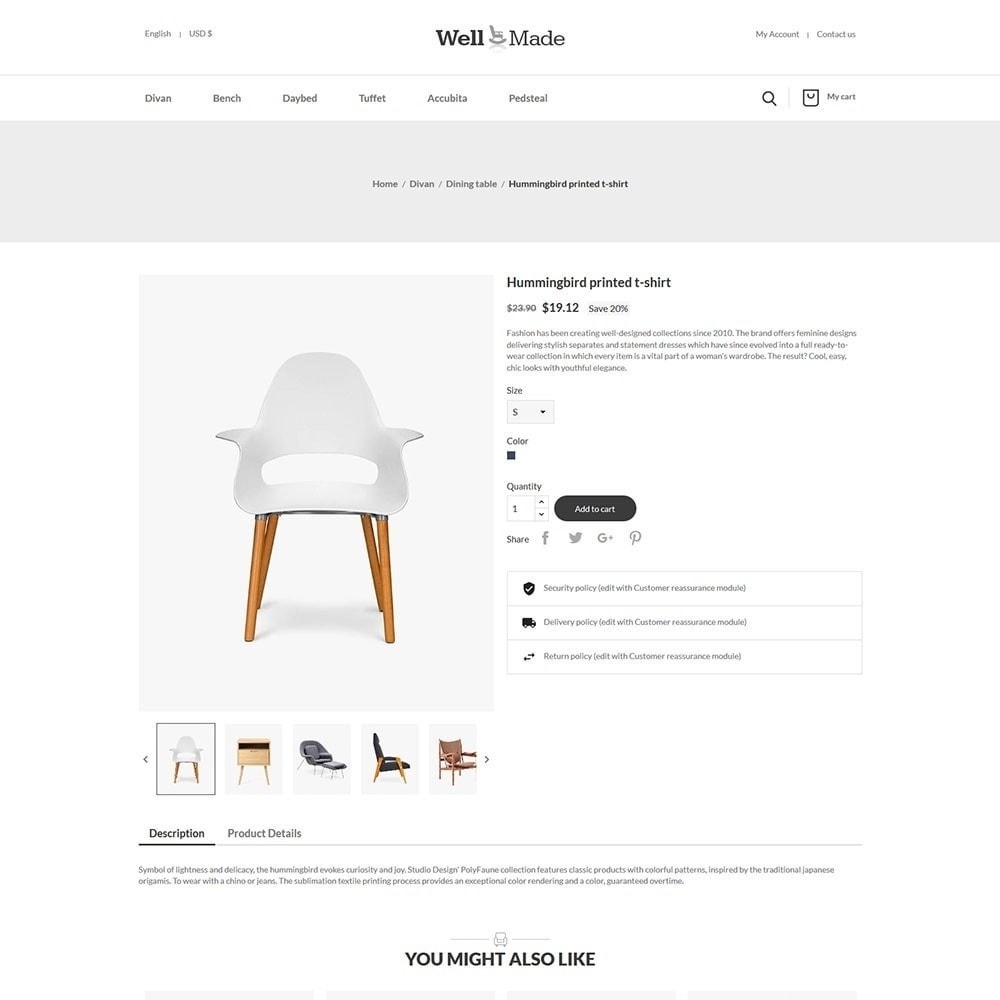 theme - Мода и обувь - Wellmade Light Furniture Store - 5