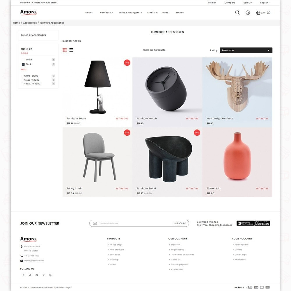 theme - Home & Garden - Amora - New Office Name - 3