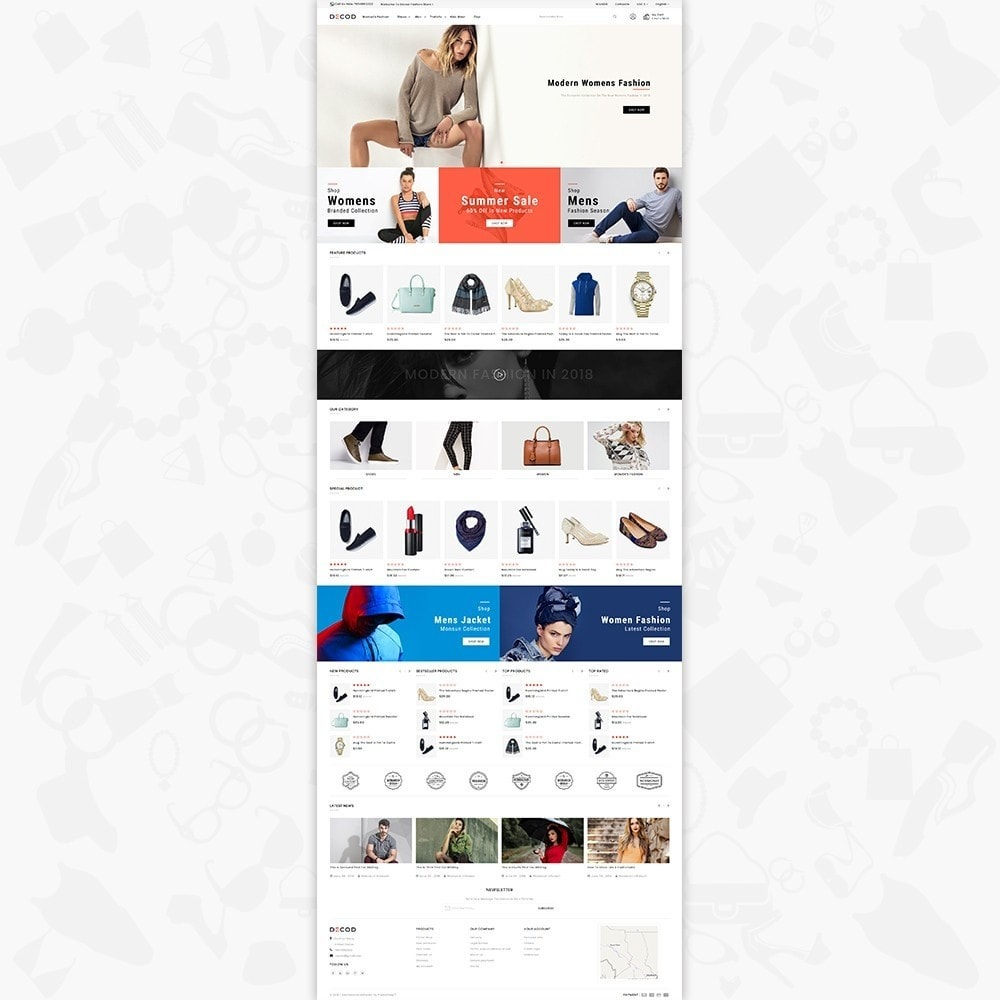 theme - Дом и сад - Decod - Fashion Store - 2