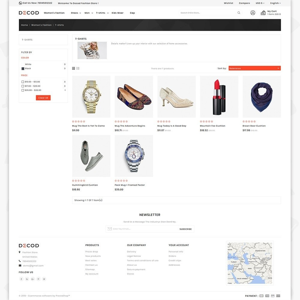theme - Дом и сад - Decod - Fashion Store - 3