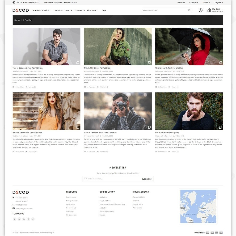 theme - Дом и сад - Decod - Fashion Store - 6