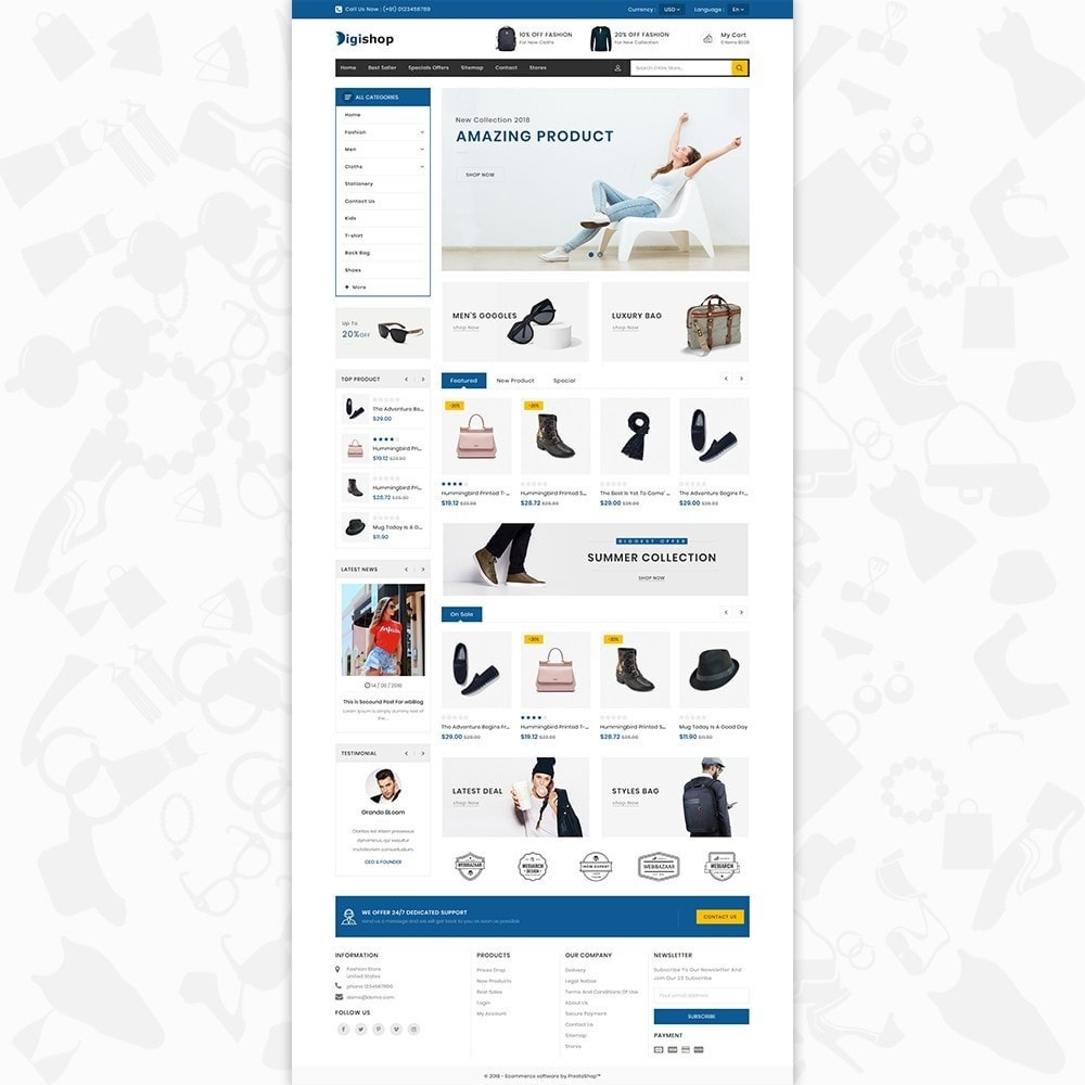 theme - Mode & Schuhe - DigiShop - Fashion Store - 2
