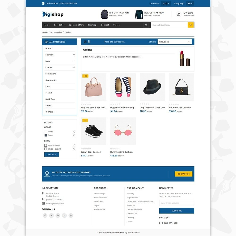 theme - Mode & Schuhe - DigiShop - Fashion Store - 3