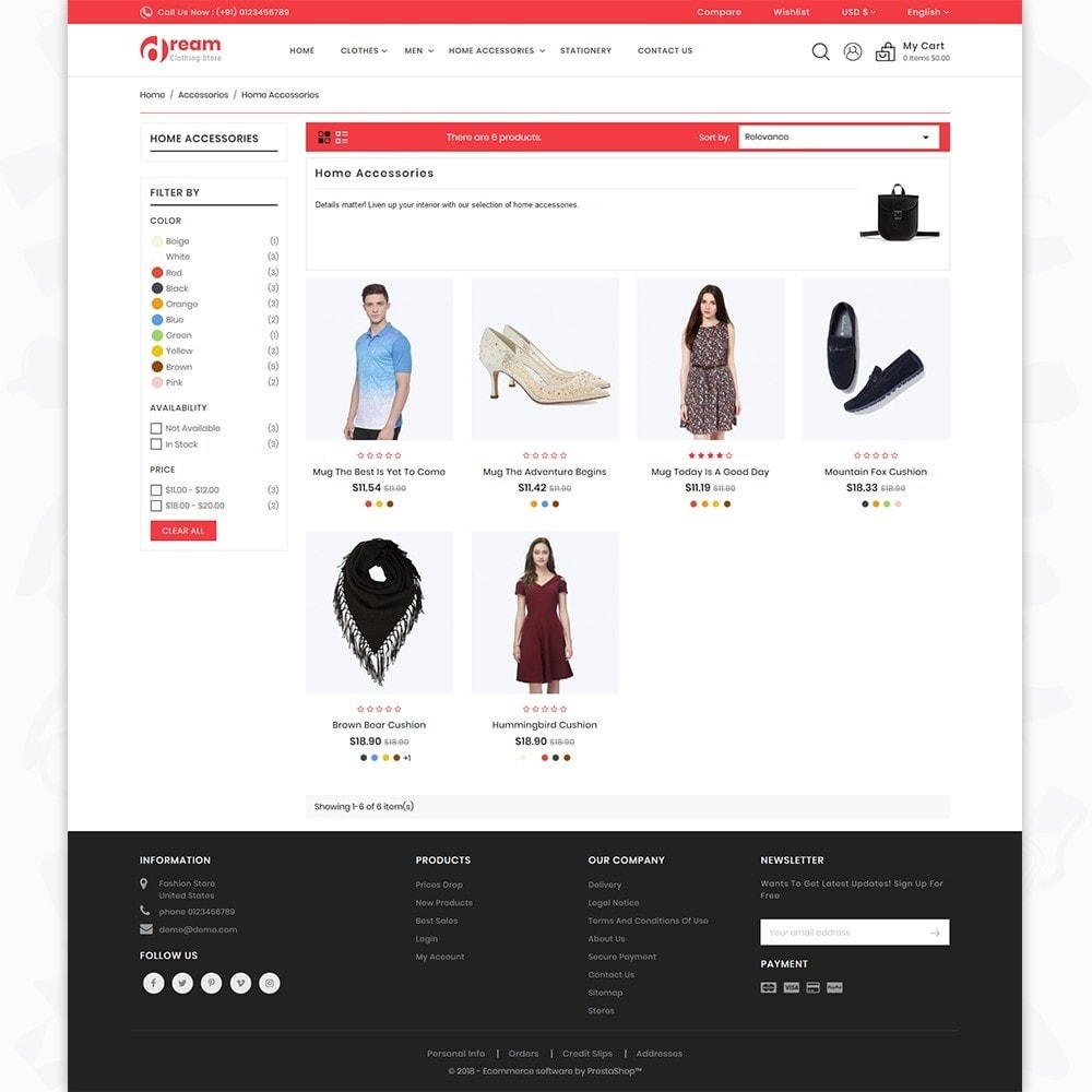 theme - Mode & Schuhe - Dream - The Clothing Store - 4