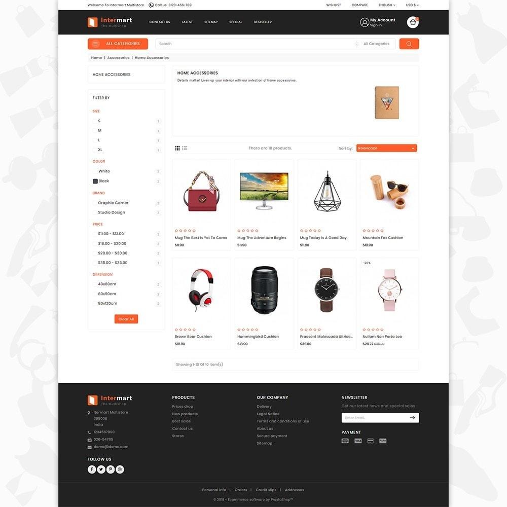 theme - Electronics & Computers - InterMart - Online Shopping Mart - 3