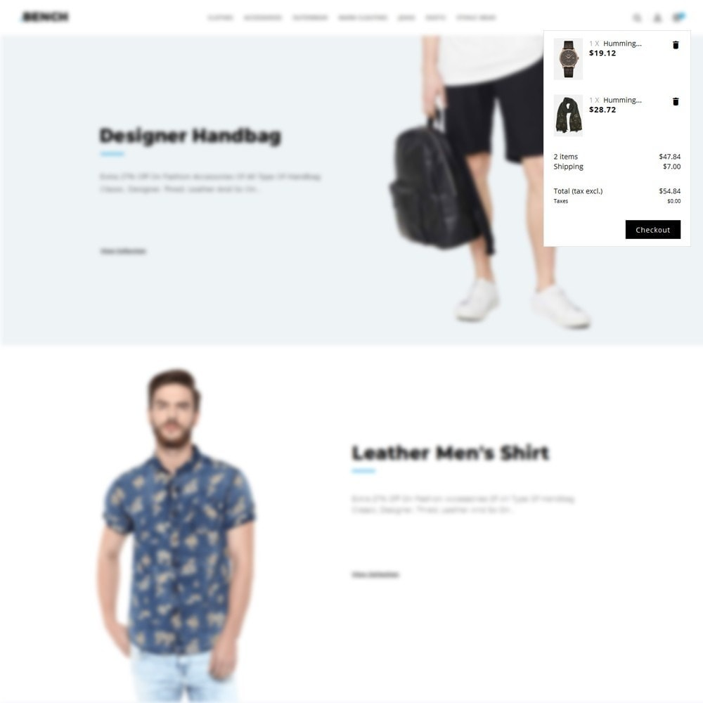 theme - Mode & Chaussures - Bench Fashion Store - 8
