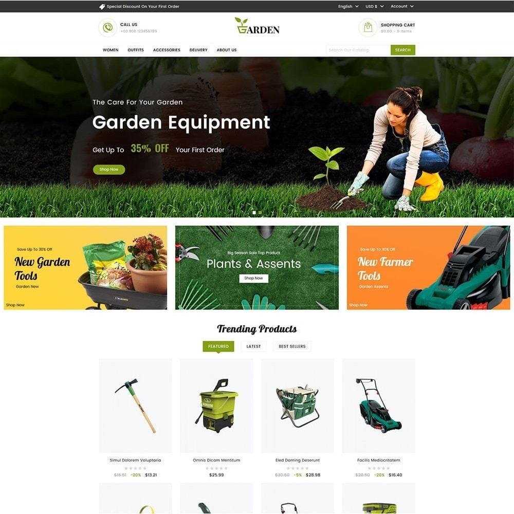 theme - Casa & Jardins - Garden Tools - 2