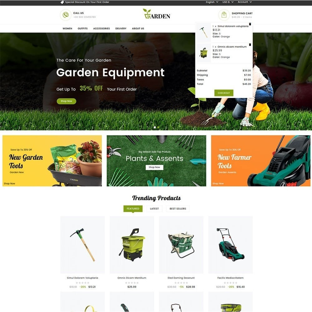 theme - Casa & Jardins - Garden Tools - 3