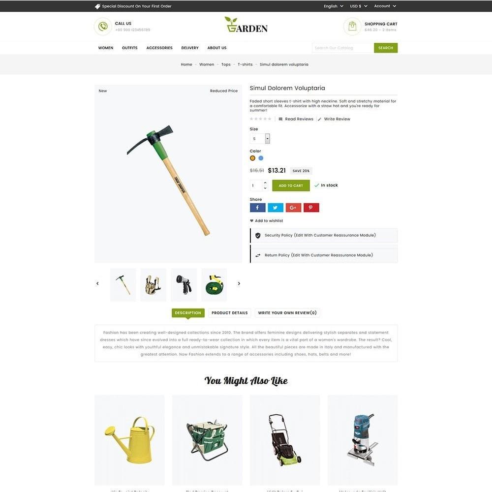 theme - Casa & Jardins - Garden Tools - 4