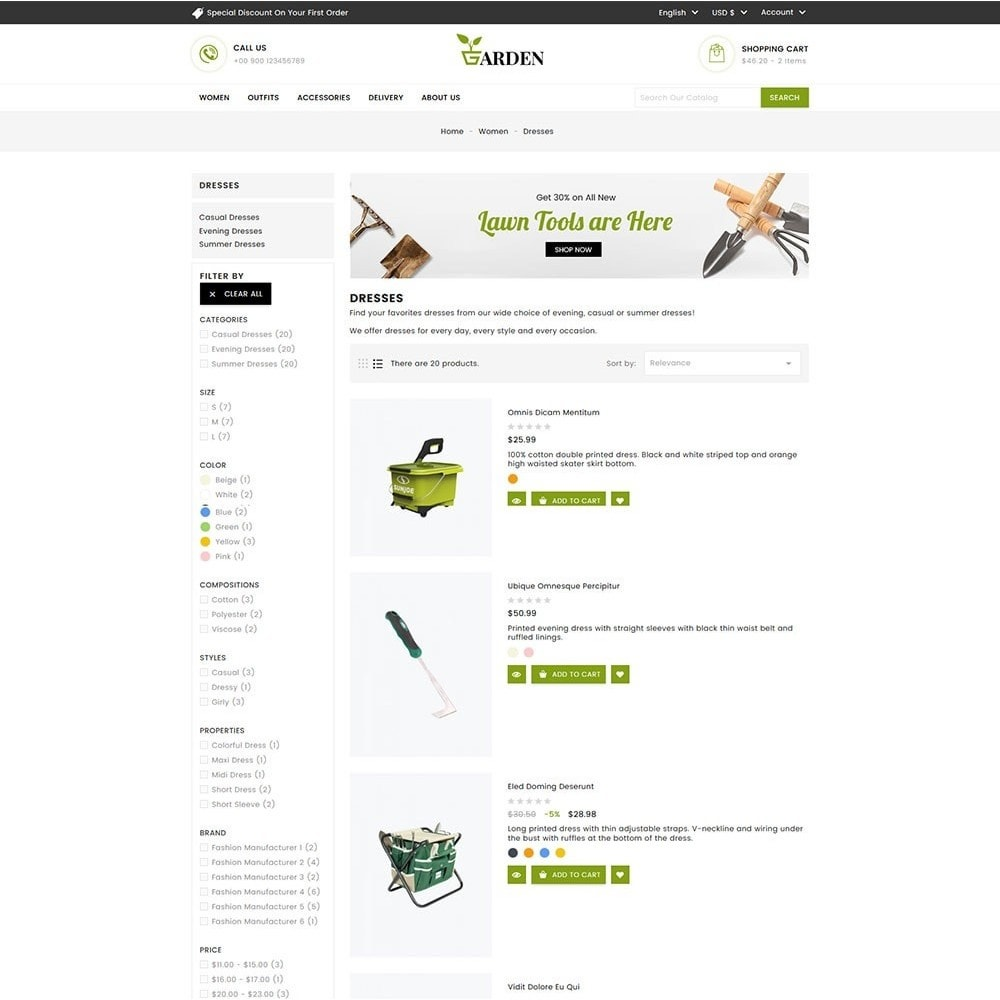 theme - Maison & Jardin - Garden Tools - 6