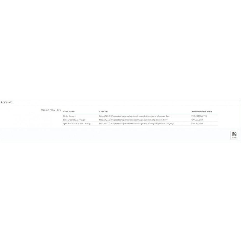 module - Marktplätze - Cedcommerce Fruugo Integration - 5