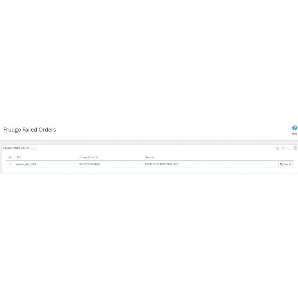 module - Marktplätze - Cedcommerce Fruugo Integration - 16