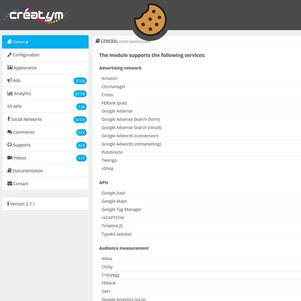 module - Jurídico - Cookie Manager (GDPR) - 6