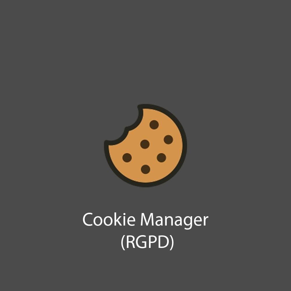 module - Législation - Cookie Manager (RGPD) - 1