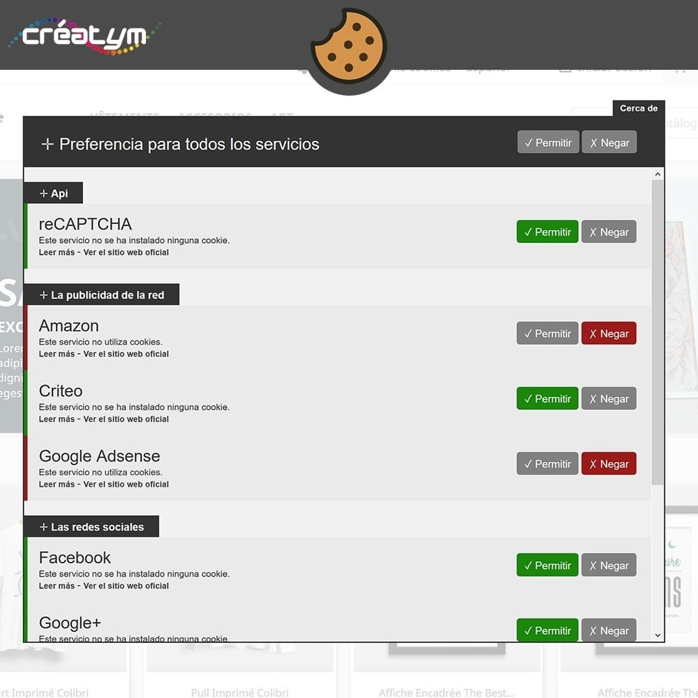 module - Marco Legal (Ley Europea) - Cookie Manager (RGPD) - 3
