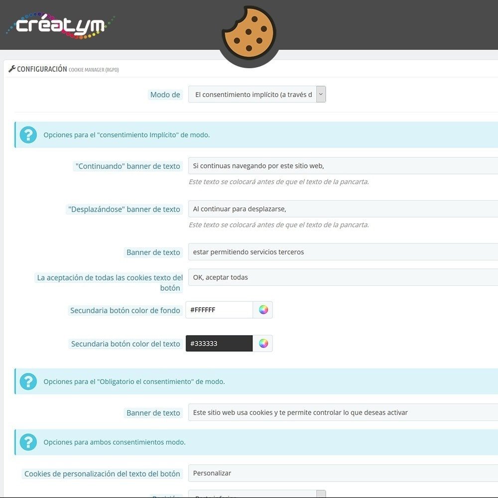 module - Marco Legal (Ley Europea) - Cookie Manager (RGPD) - 7