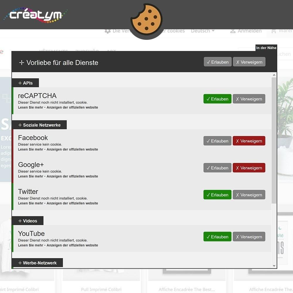 module - Rechtssicherheit - Cookie Manager (DS-GVO) - 3