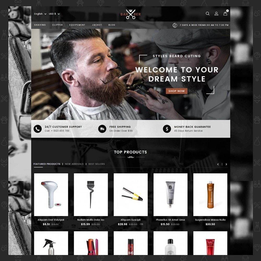 theme - Salute & Bellezza - Barber Store - 2