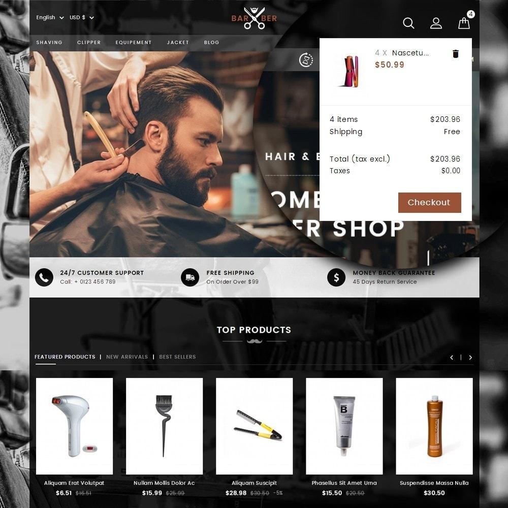 theme - Salute & Bellezza - Barber Store - 7