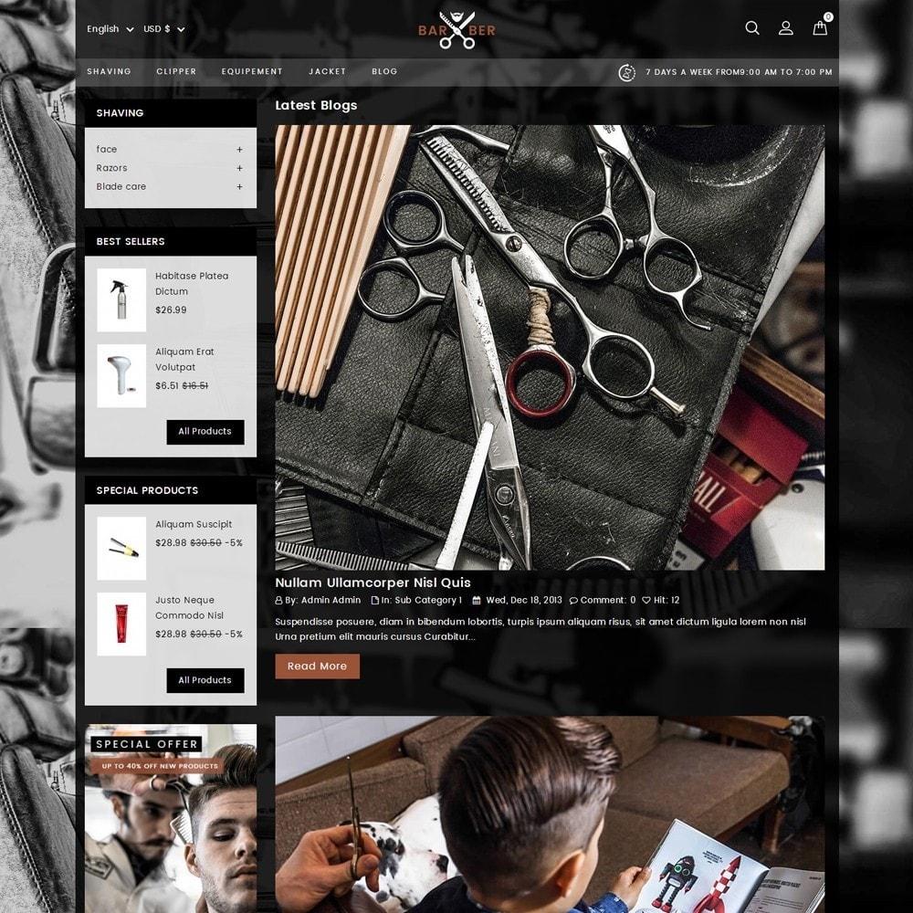 theme - Salute & Bellezza - Barber Store - 8