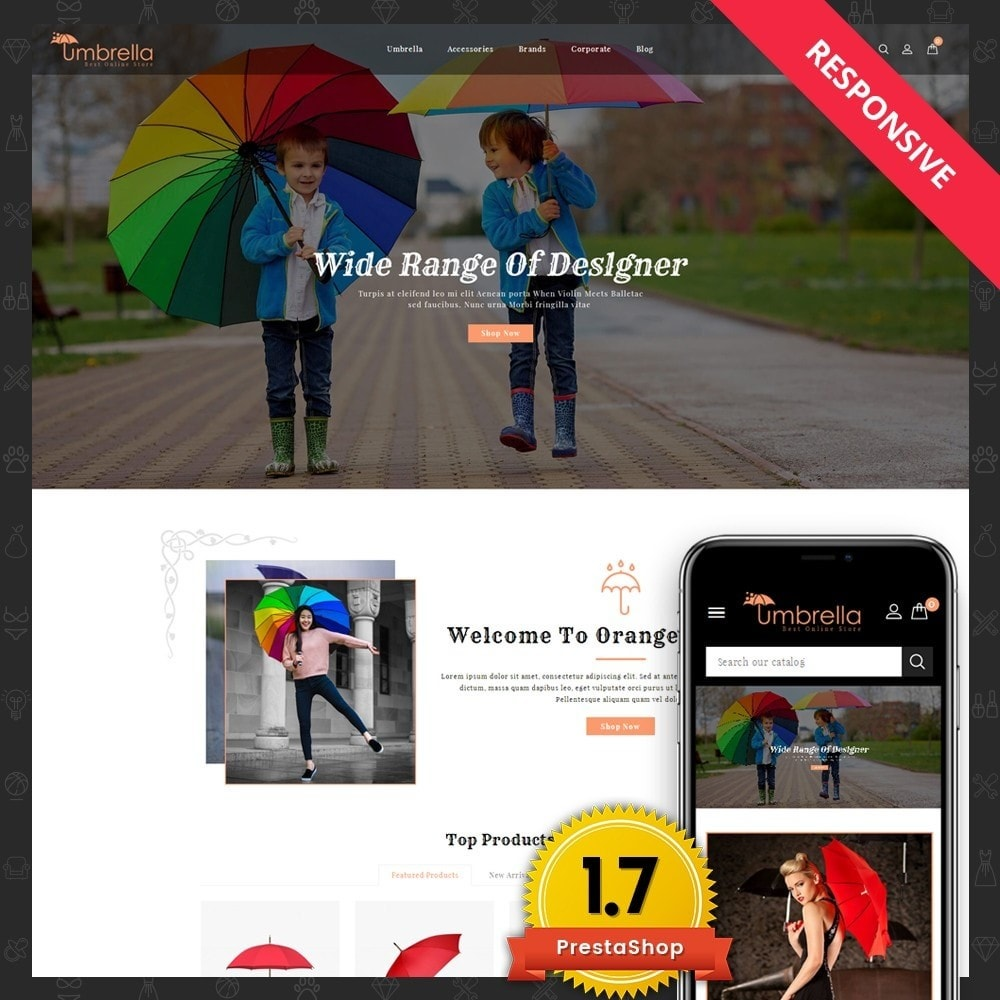 theme - Moda & Calzature - Umbrella Store - 1