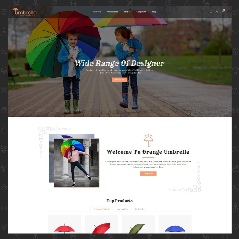 theme - Moda & Calzature - Umbrella Store - 2
