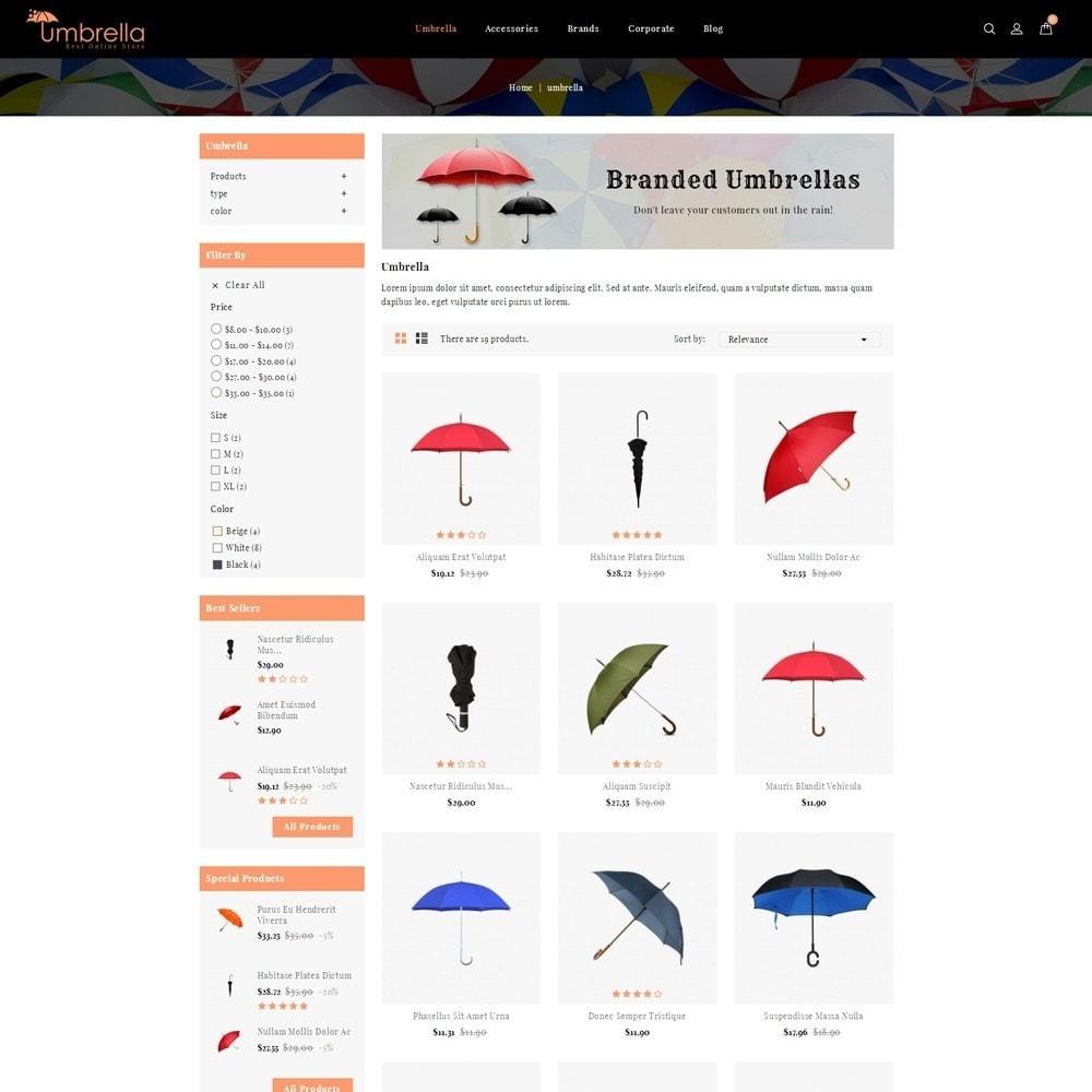 theme - Moda & Calzature - Umbrella Store - 3