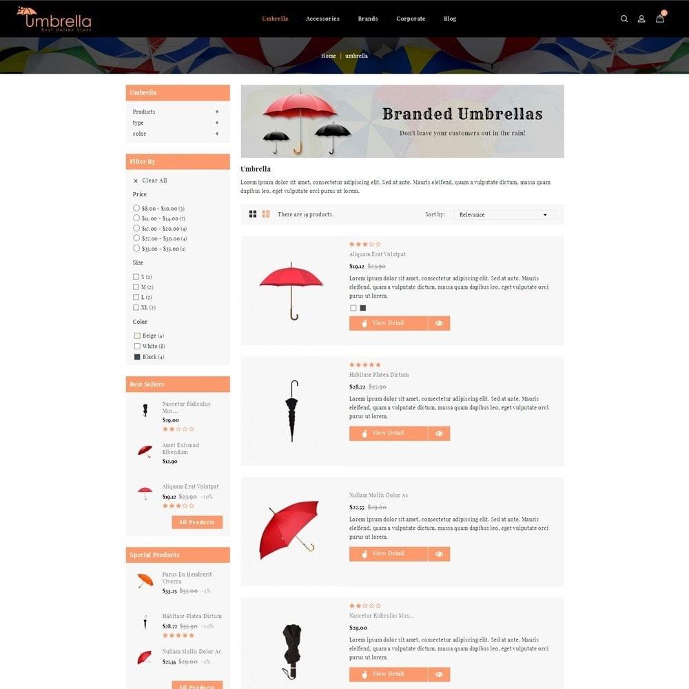 theme - Mode & Schuhe - Umbrella Store - 4