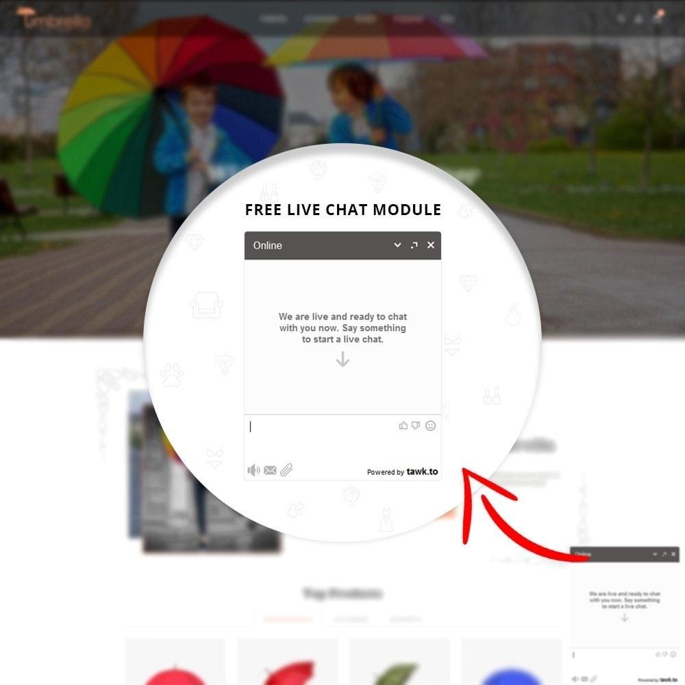 theme - Moda & Calzature - Umbrella Store - 8