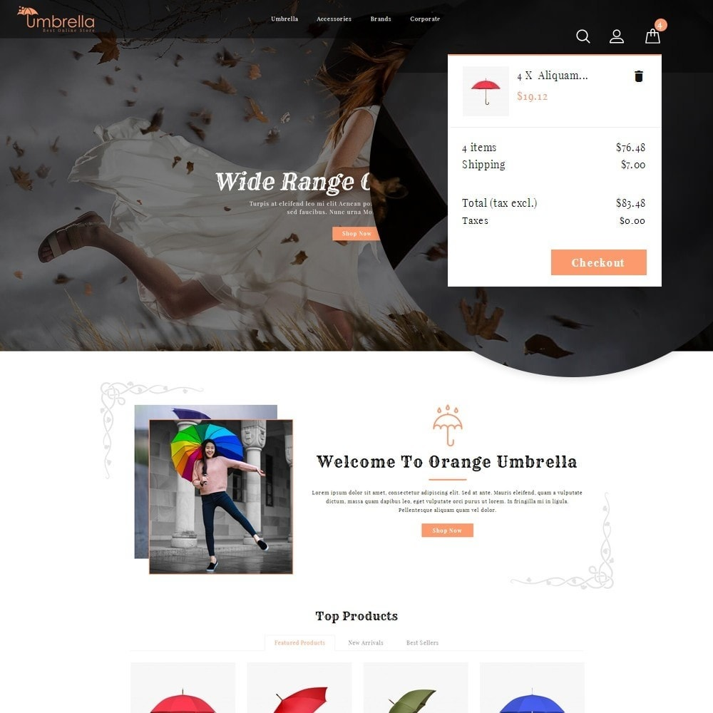 theme - Mode & Schuhe - Umbrella Store - 10