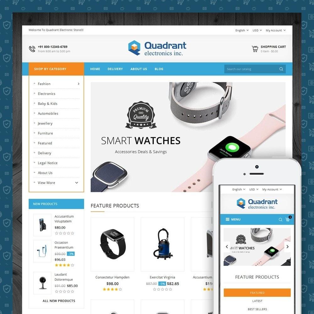 theme - Elektronik & High Tech - Quadrant - Electronic Store - 1