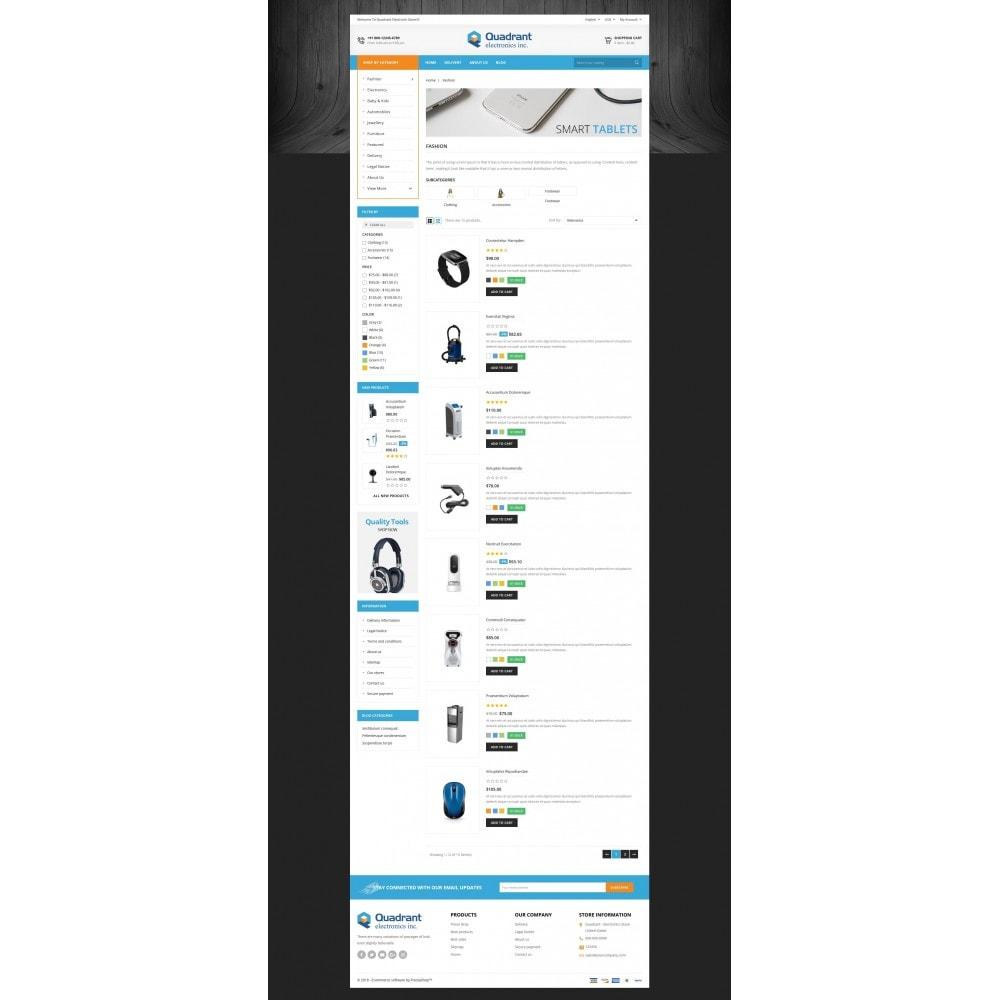 theme - Elektronik & High Tech - Quadrant - Electronic Store - 4