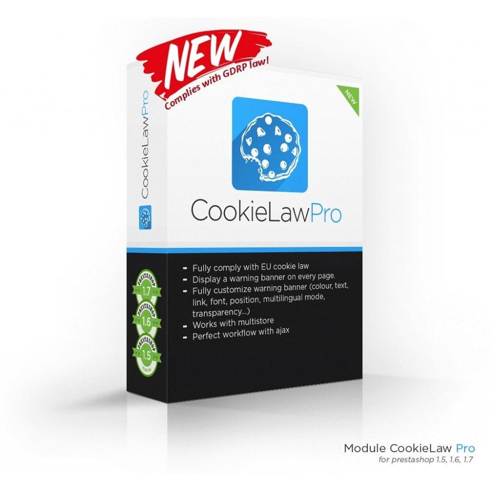 module - Législation - European Cookie Law Pro (GDRP compliant) - 1