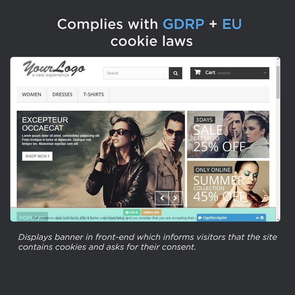module - Législation - European Cookie Law Pro (GDRP compliant) - 2