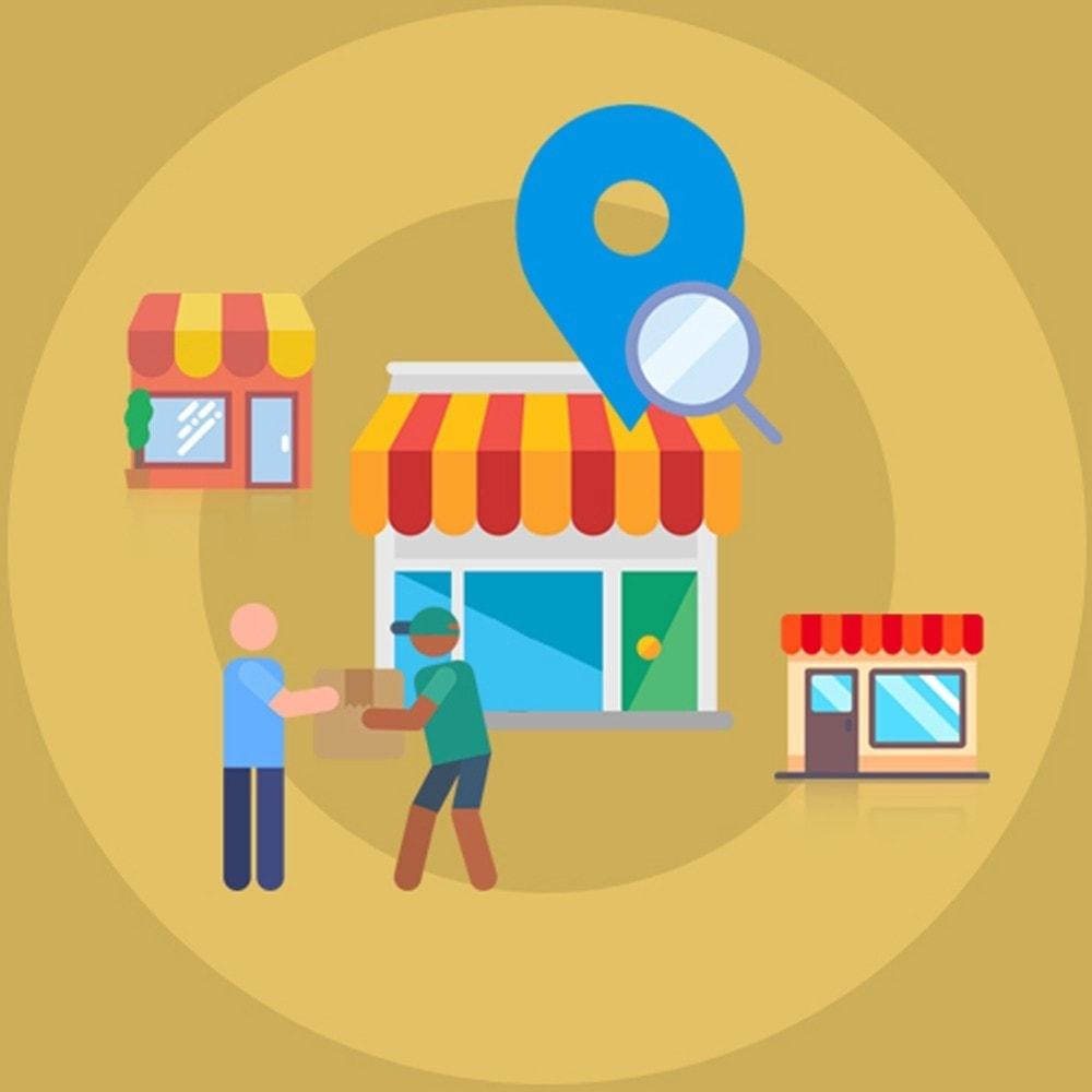 module - Point Relais & Retrait en Magasin - Localisateur de magasins et ramassage - 1