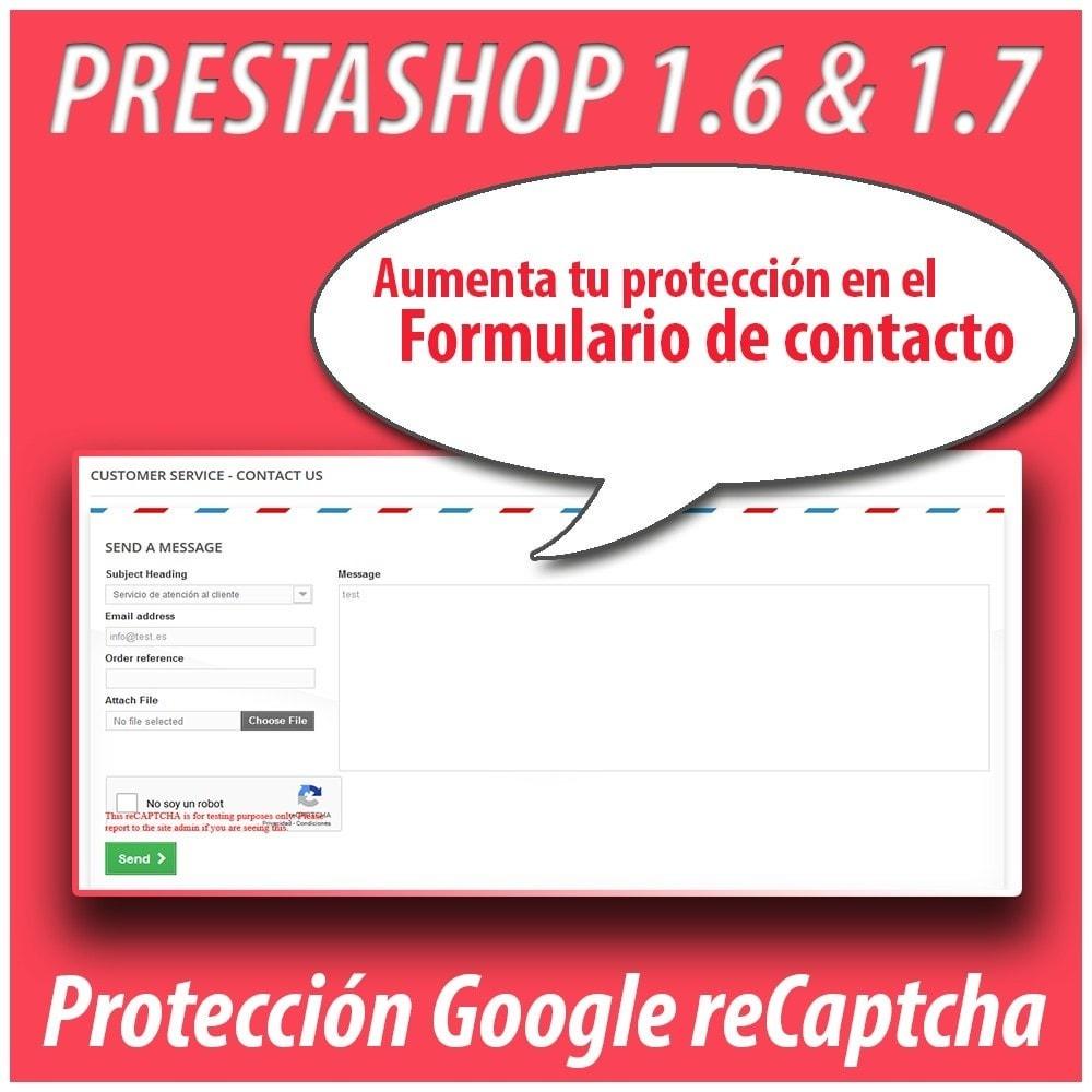 module - Seguridad y Accesos - Anti-spam Protector - 5