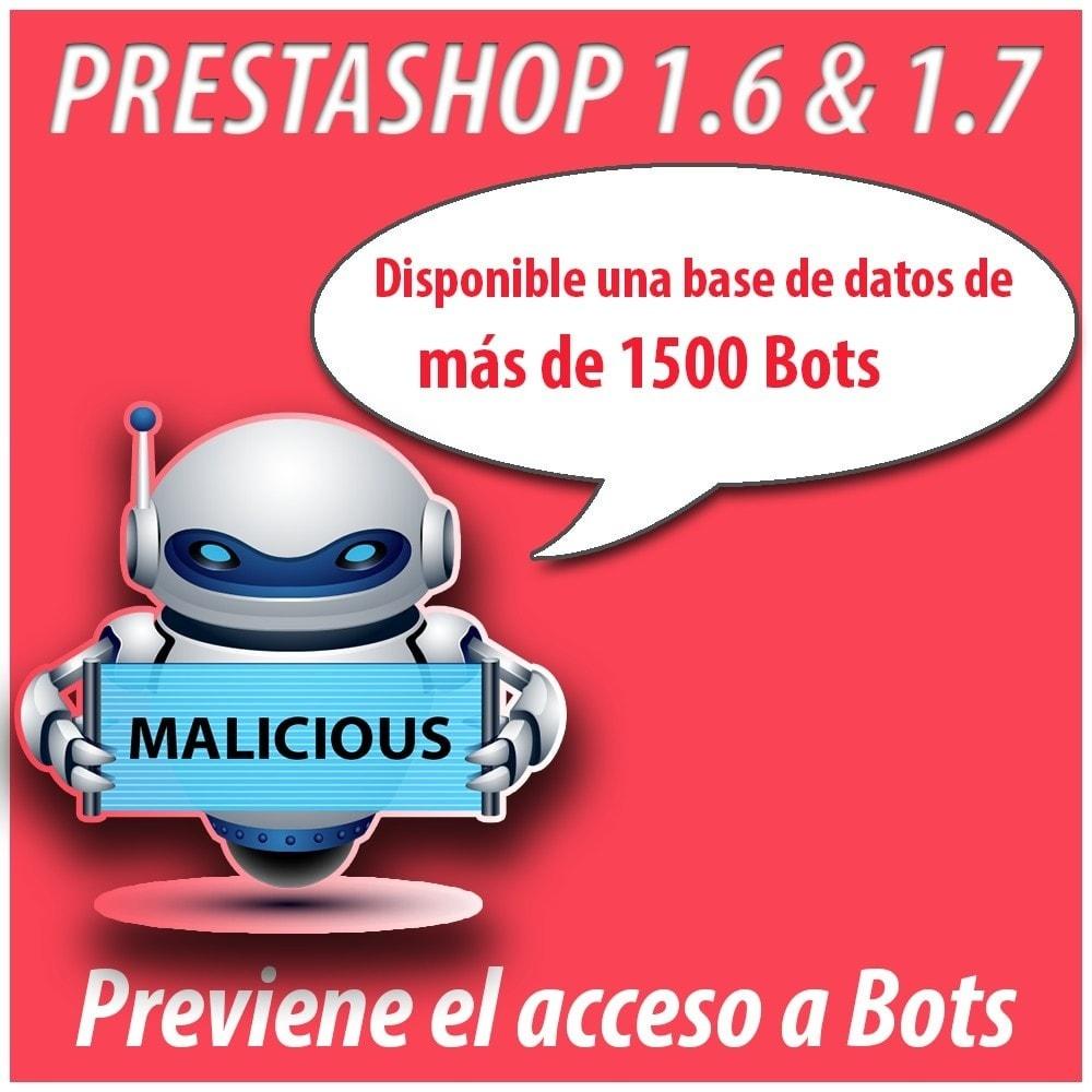 module - Seguridad y Accesos - Anti-spam Protector - 6