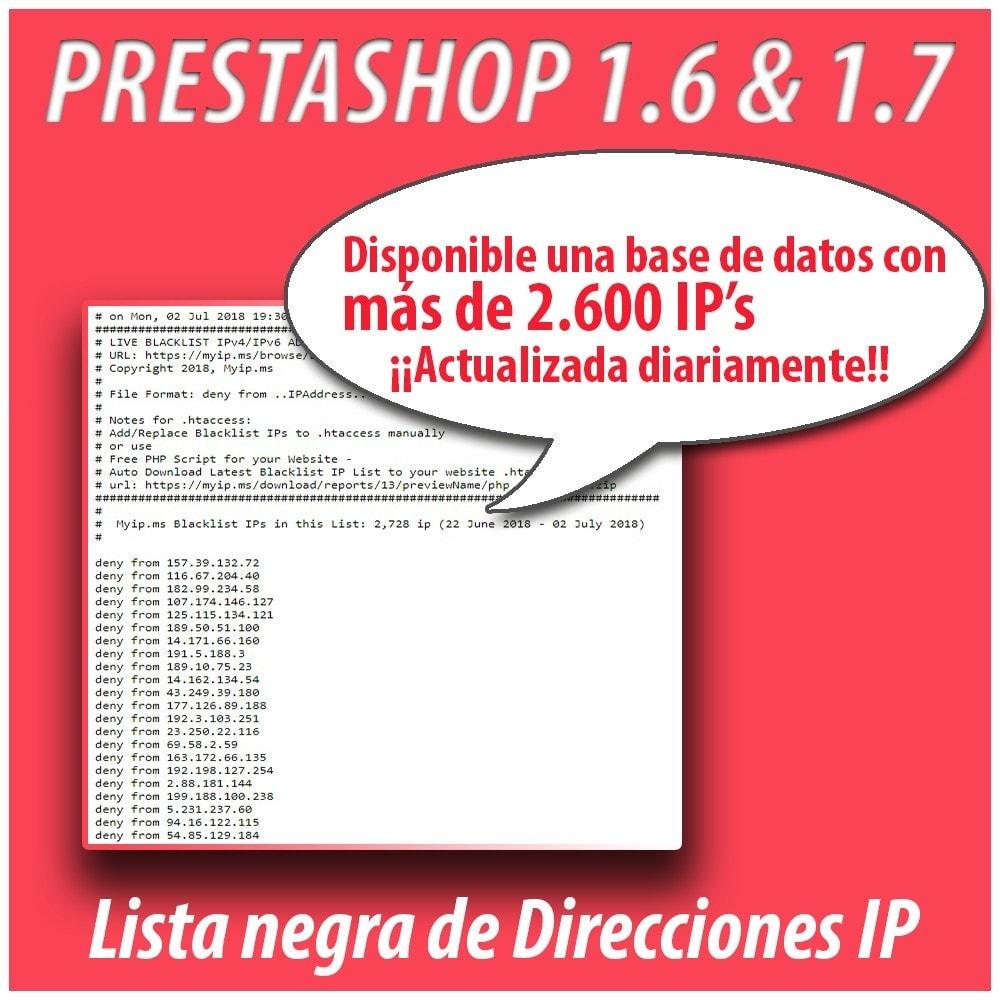module - Seguridad y Accesos - Anti-spam Protector - 7