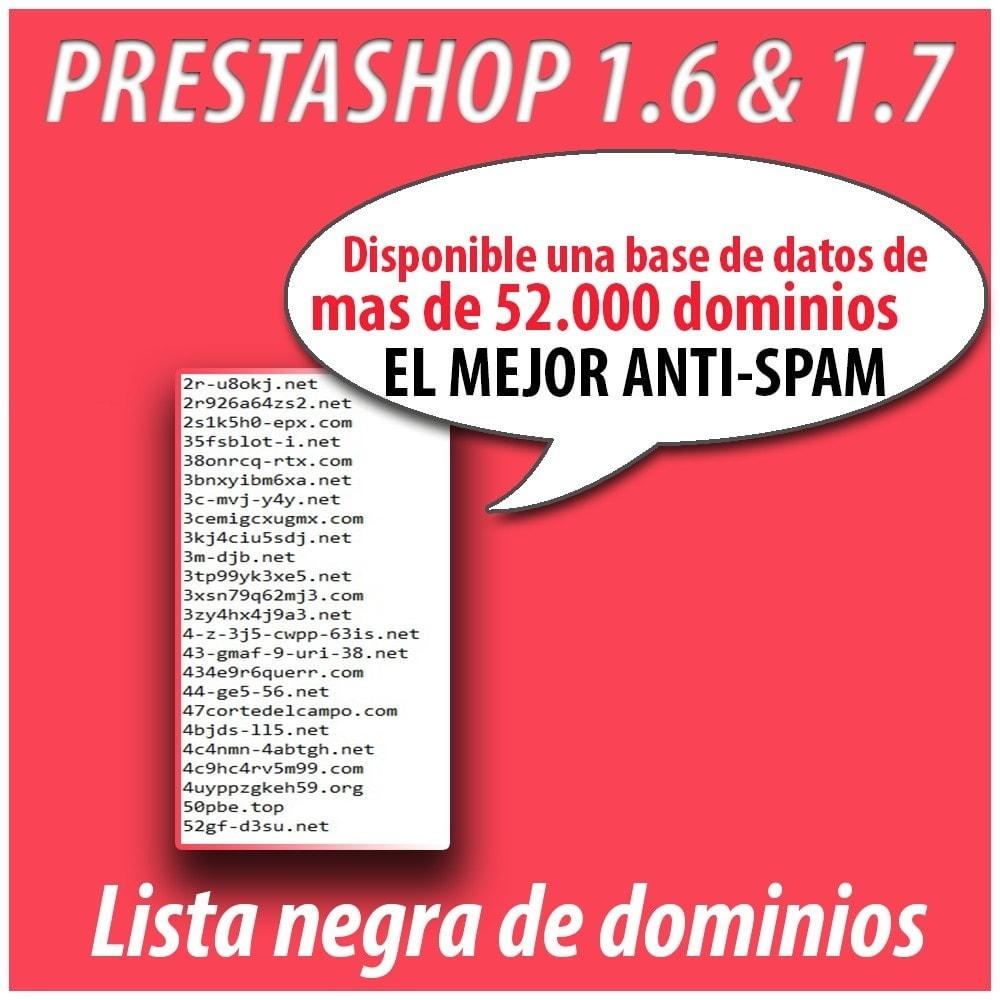 module - Seguridad y Accesos - Anti-spam Protector - 8