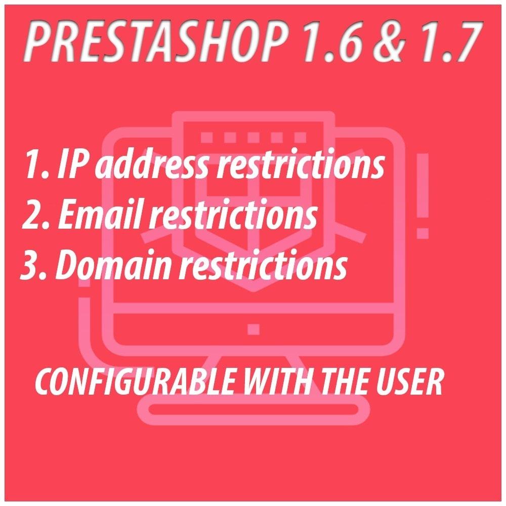 module - Безопасности и доступа - Anti-spam Protector - 1