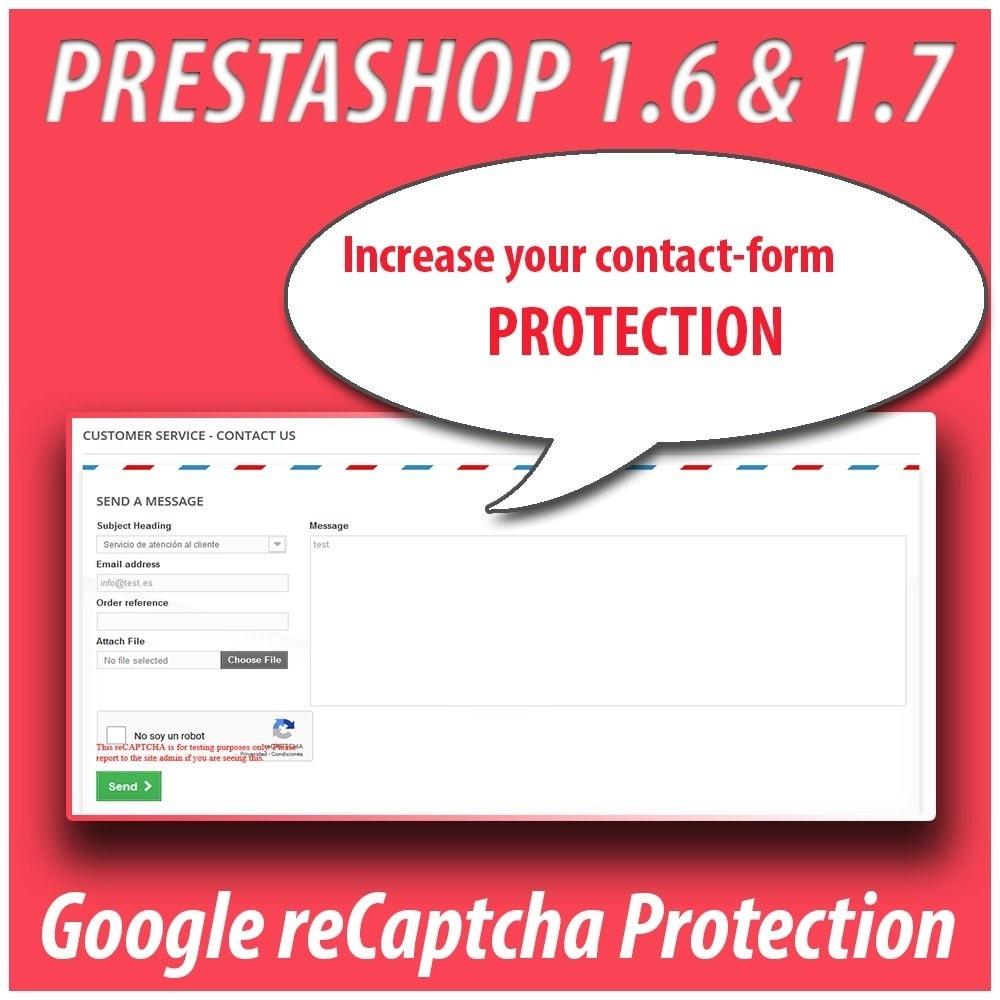 module - Sicherheit & Brechtigungen - Module Anti-spam Protector - 2