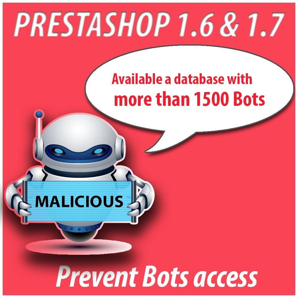 module - Segurança & Acesso - Module Anti-spam Protector - 3
