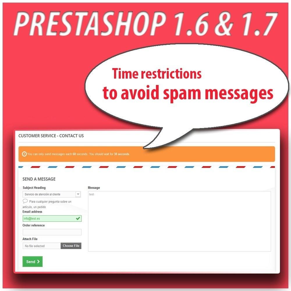 module - Segurança & Acesso - Module Anti-spam Protector - 6