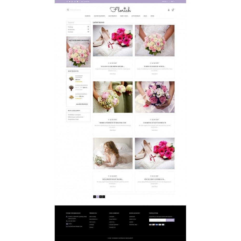 theme - Presentes, Flores & Comemorações - Florich - Wedding Flowers Store - 9