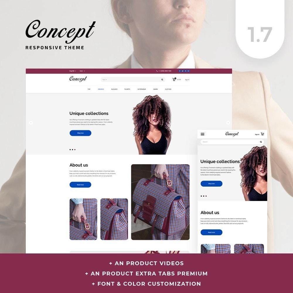 theme - Мода и обувь - Concept Fashion Store - 1