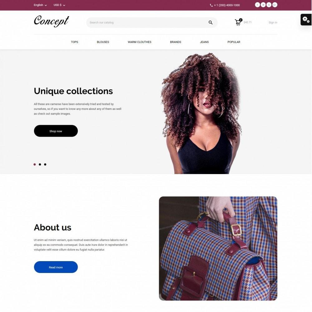 theme - Мода и обувь - Concept Fashion Store - 2