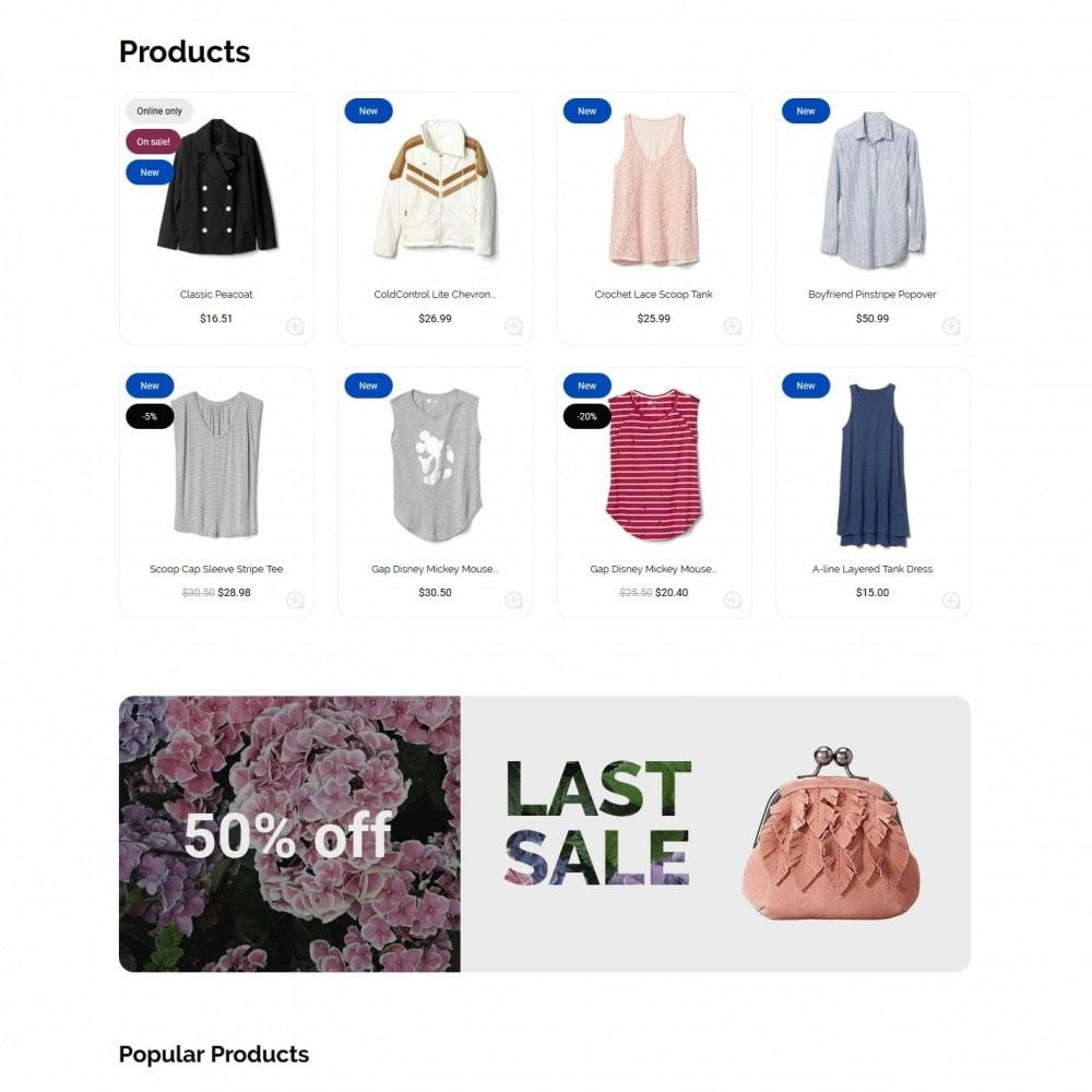 theme - Мода и обувь - Concept Fashion Store - 3