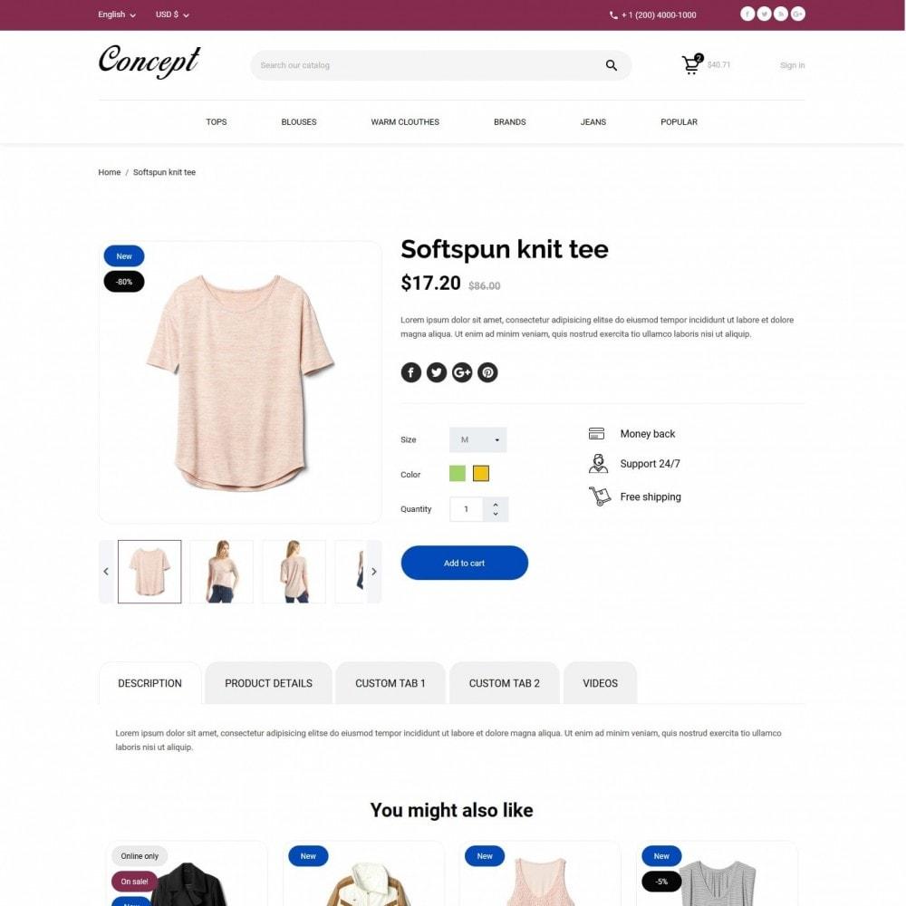 theme - Мода и обувь - Concept Fashion Store - 6