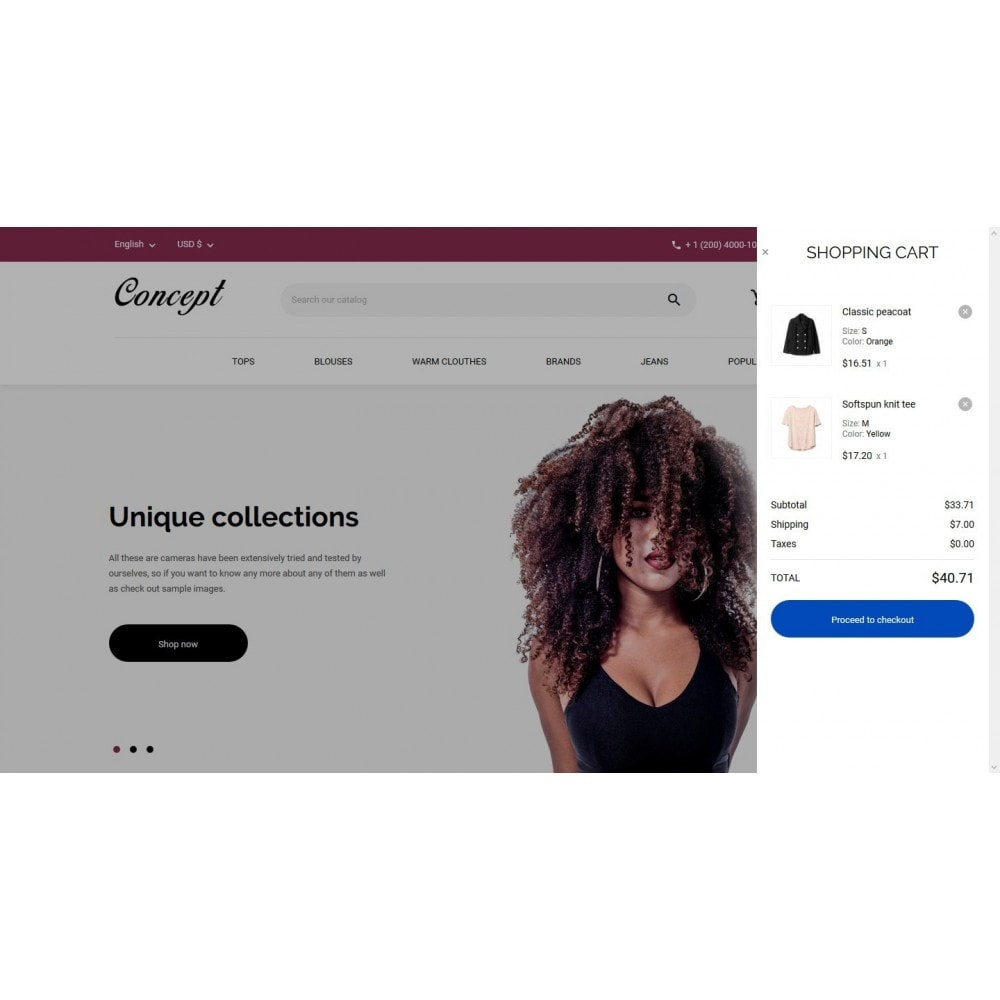 theme - Мода и обувь - Concept Fashion Store - 7